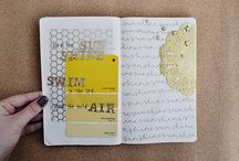 art journal inspiration / pages for inspiration