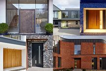 Best contemporary front doors / Some of our favourite front doors from 2016.
