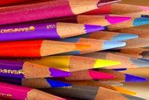 matite colorate gessetti
