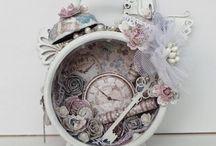 Reloj alterado
