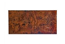 Copper Table Tops / CopperSmith offers quality copper table tops.