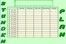 Stundenplan / Stundenplan, A-B Wochen