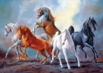 Cross stitch Horses 23