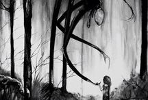 horror, paranormal & darkfiction