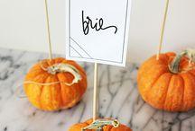 Fall Buffet display Ideas