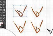 Les étapes de la création du logo Designduvin.com / TUTORIEL – Les 6 étapes d'une création de logo réussie sous Illustrator avec Designduvin.com, studio graphique et digital spécialisé dans le secteur viticole.