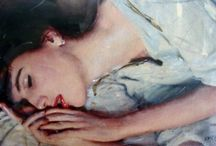 ✿ Sleeping Women in Art