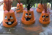 Autumn craft and decor