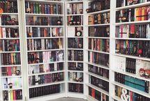 Bookshelves / Geeky bookshelve goals ;)