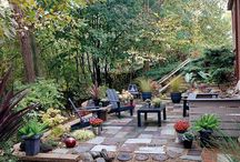 OUTDOOR ROOMS / by Debbie Swerdon