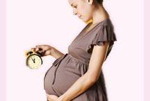 6 Anzeichen für eine Geburt