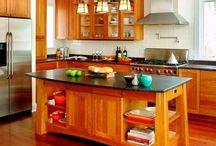 kitchen island / by Jessie Bryson