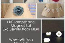 lampshades / by Susan Haugen Westenberg