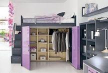 Teen bedrooms / Deco