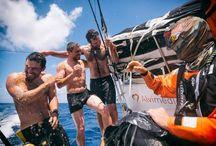 Vuelta al mundo a vela Volvo Ocean Race / carteles, dibujos, fotos