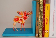 Bookend DIY/Ideas