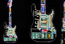 Personalized handmade gifts / I create handmade gifts from license plates. Check out my guitar wall art, all handmade, all customized to what matters to you most.