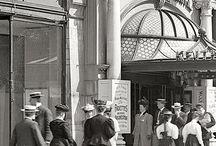 Street Scenes in Early 1900's - 1940's