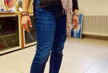 Casual wear at work for women / Simple everyday clothes