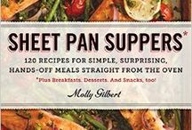 Sheet Pan Suppers Recipes / Try one of these scrumptious sheet pan recipes for your weekday supper. Easy to make one pan dishes.