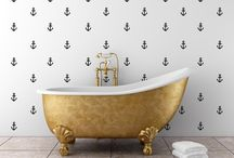 Bathroom / Bathroom decor and cute bathroom accessories.