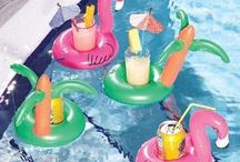 Cocktails and Poolside Coolers