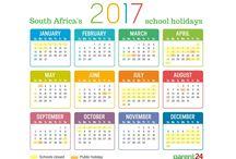 Skoolvakansies 2017