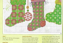 Cross stitch Socks