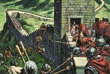 Romani Vallo di Adriano