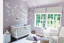 Babykamer / Kinderkamer / Leuke en mooie ideeën voor op een baby- of kinderkamer