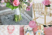 PANTONE Cashmere Rose Wedding Ideas / Wedding ideas inspired by the PANTONE color Cashmere Rose