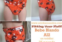 Fitting Your Fluff / Real photos of real kids wearing real cloth diapers