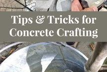 Concrete crafting