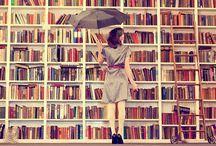 Books Books and More Books / by Johanna Iwaszkowiec