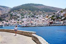 Hydra island - Greece / HYDRA-THE AESTHETICALLY PERFECT ISLAND