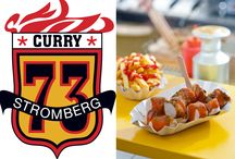 CURRY73 / Curry Wurst Pommes Soße Imbiss Bude System Konzept #currywurst, #munich, #schaschlik, #curry73   http://www.holgerstromberg.de/curry-73.html