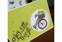 stampin up bike ride !