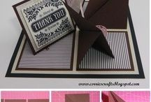 fancy fold card tutorials