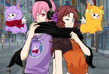 Sakai & Haruhi / :3