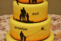birtday cake for grand father