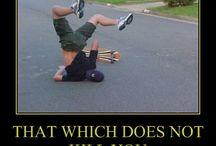 skateboarding captions