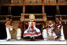 Kathakali Theatre / Traditional Indian dance theatre telling the story of the Mahabharata.