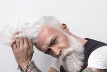 Men's grey hair styles
