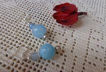 Bijoux pietre dure naturali / Bijoux realizzati artigianalmente con pietre dure naturali e perle di fiume