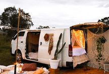 nomad living / Dreaming of vans and tiny homes...