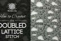 How to crochet the......