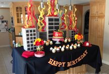 Birthday Theme - Fire Fighter