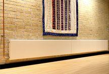 Hudevad Radiators / Flat panel radiators - The Architects choice.   Direct from Simply Radiators www.simplyradiators.co.uk