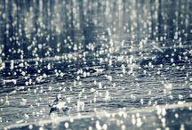like the rain...