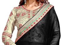 Best Sarees for Women with Embroidered Blouse Piece